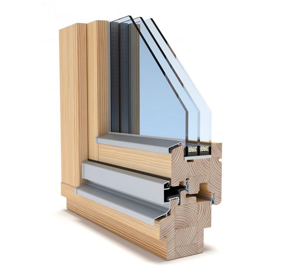 Деревянные окна Nova-78 для квартиры и дачи